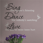 Dance, sing, love - 84,00 zł