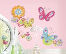 Kolorowe motyle - 84,00 zł